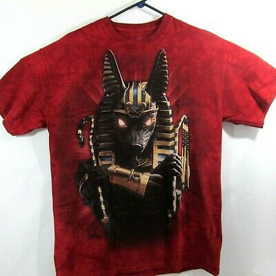 Anubis Soldier Adult T-Shirt Ancient Egyptian Mythology Battle Pharoah Mountain