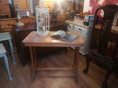 Pine unrestored washstand / console table/ hall table use as is or great project