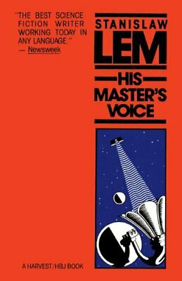 HIS MASTER'S VOICE By Stanislaw Lem *Excellent Condition*