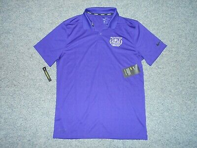Nike Golf Dri-Fit New! W/Tags Mens Medium Pumpkin Ridge Classic Polo Shirt