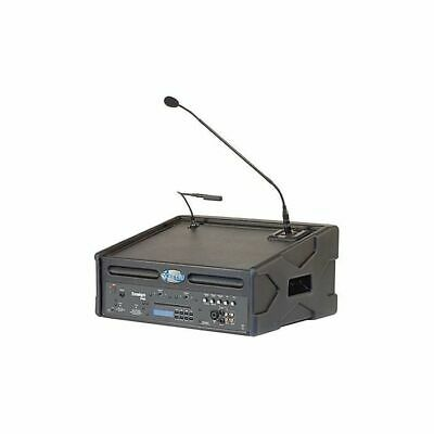 Anchor Audio Ensign Pro Portable Table Lectern Podium Pa Speaker - Must Read!