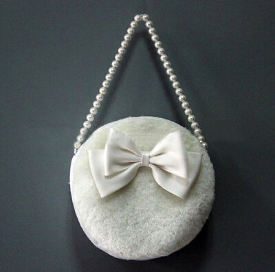 Faux Fur Bridesmaid Girl Flower Bag/Communion Pouch/Bridal Wedding Dolly Handbag