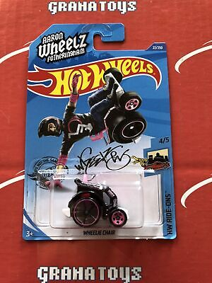 Wheelie Chair #22 Pink Ride-Ons 2020 Hot Wheels Case A