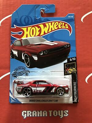Dodge Challenger Drift Car #179 Nightburnerz 2019 Hot Wheels Case Q