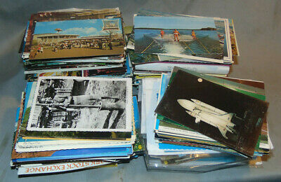 Lot of 500+ Postcards U.S. & Foreign 60's - 80's Posted & Unposted Wide Variety