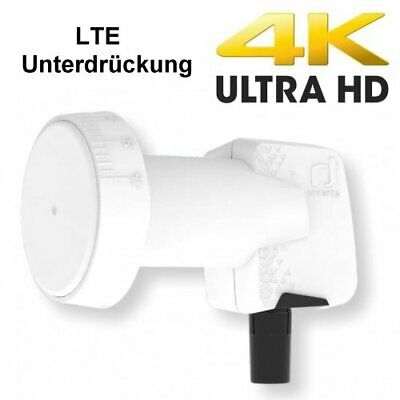 Inverto Single Universal HOME Pro 0.3 db Single LNB 4K UHDTV LTE Unterdrückung