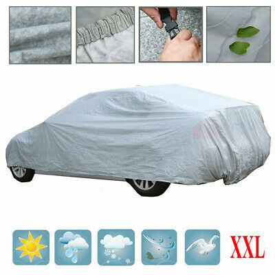 Universal Breathable Waterproof Full Car Cover UV Protection Outdoor Large XXL