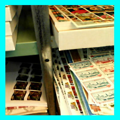 Zillions of stamps to go - Old stock clearance  # Mostly 50+ years old  #  200+