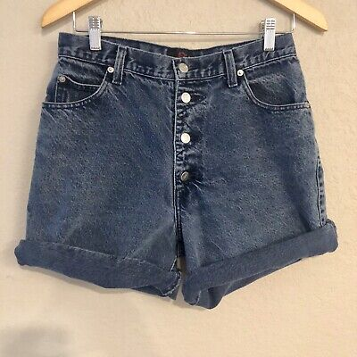 VINTAGE Sasson Denim Shorts High Waisted Mom Shorts