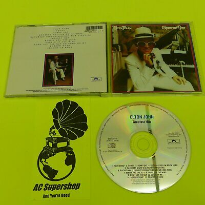 Elton John Greatest Hits - CD Compact Disc