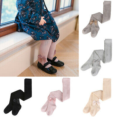 Toddler Baby Kids Soft Comfortable Pantyhose Girls Children Cute Bow Tights