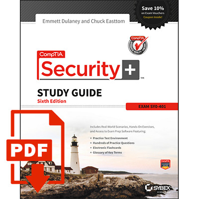 PDF CompTIA Security+ Study Guide Exam SY0-401 6th Edition