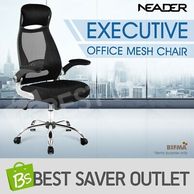 Ergonomic Mesh Office Chair High Back Executive Office Computer Desk Work Seat
