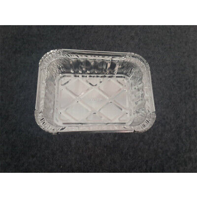 10 PCS Take Out Takeaway Food Box-Aluminum Foil Container Storage IKA