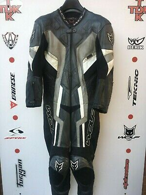 Wolf Kangaroo 1 piece race leathers with hump uk 42 euro 52