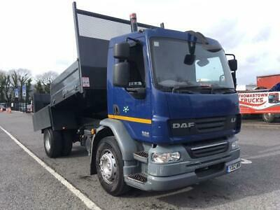2012 Daf Lf55-250 Fitted With New 14Ft Steel Insulated Dropside Body,