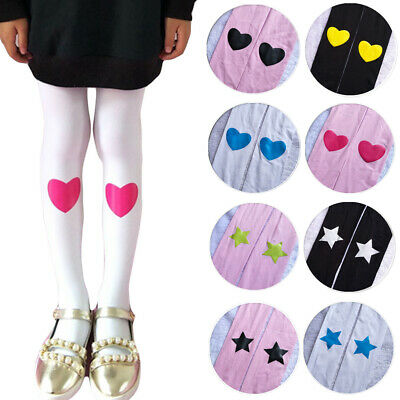 Children's Cute Printed Soft Tights Girls Kids Comfortable Velvet Pantyhose