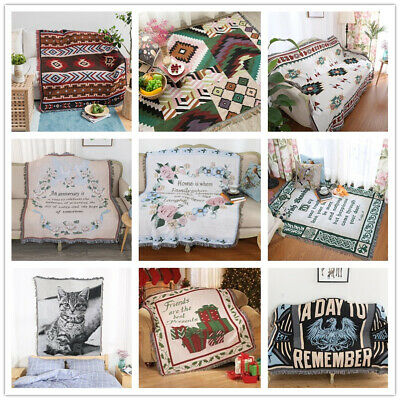 Blanket Soft Sofa Bed Throw Garden sofa Hanging Tapestry Rugs Bedroom Decor gift