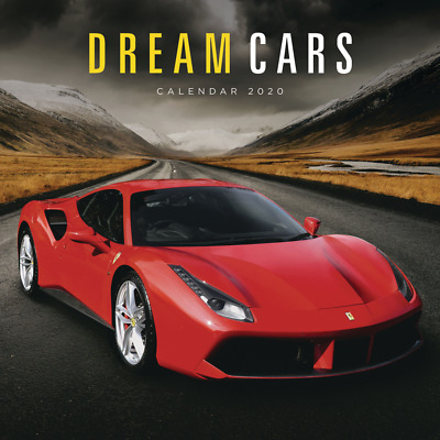 Square Wall Calendar 2020 Dream Cars