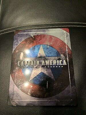 steelbook captain america first avenger