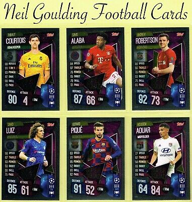 Champions League MATCH ATTAX 2019/2020 ☆ SUPER SQUAD Cards ☆ #SS1 to #SS15 [UK]