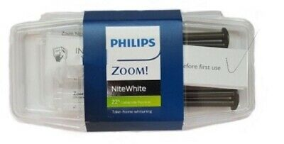 "Philips Zoom Teeth whitening gel 22%, 3x Syringes This Pack ""✅ Expiry 01/21"