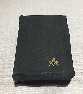 Freemasons United Grand Lodge  Bible Thistle Lodge 291 Brunswick 1940's