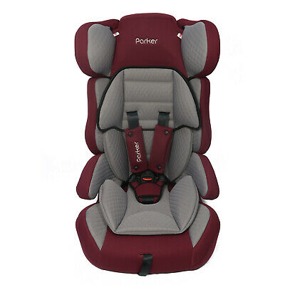Grey & Plum Parker Child Baby Car Seat Group 1/2/3 Age 4-12 Safety Booster