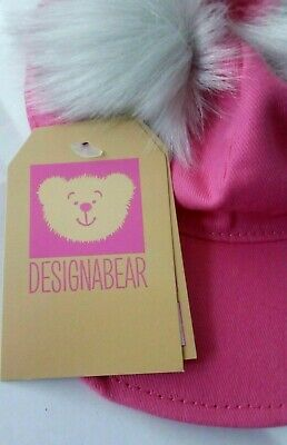 """New Design A Bear Hat and Scarf Set For 15/"""" Chad Valley Designabear"""