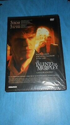DVD EL TALENTO DE MR RIPLEY The Talented Mr. Ripley