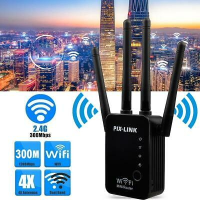 WLAN Repeater Signal Amplifier WR16 Wireless Router Wi-Fi Range Extender Booster