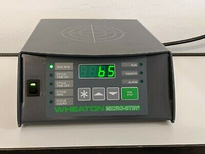 "WHEATON W900700-A MICRO-STIR SLOW SPEED MAGNETIC STIRRER 5-200 RPM 10x8"" 3Liters"
