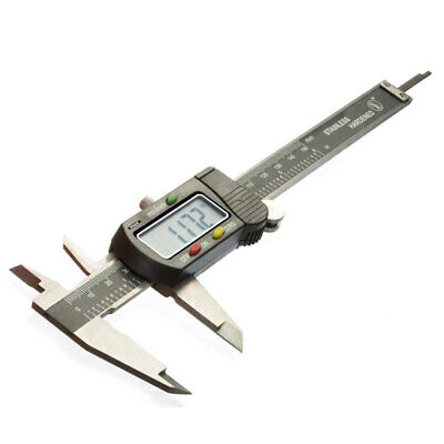 """6"""" Digital Electronic Caliper Vernier Lcd Stainless Jewelry Gauge Labs Hobby"""