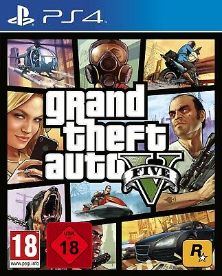 PS4 GTA V Grand Theft Auto Premium Edition NEU&OVP Playstation 4