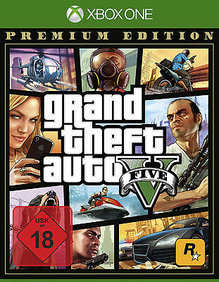 XBOX ONE GTA V Grand Theft Auto Premium Edition NEU&OVP
