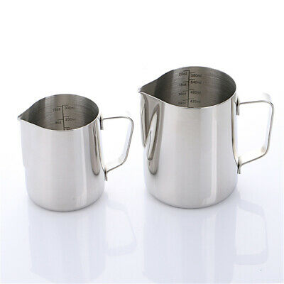 Stainless Steel Jug Cup Mug milk steamer Pitcher Frothing Milk Foam high quality