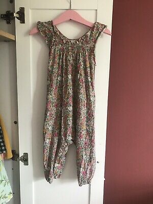 Baby Girls Aged 12-18 Months Next Floral Romper. Brand New With Tags