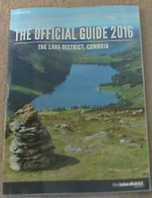 2016 The Official Guide The Lake District Cumbria Booklet (100 Pages)