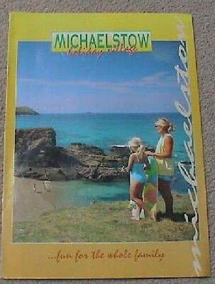 2001 Michaelstow Holiday Village Guide (St Tudy Cornwall) (8 Pages)