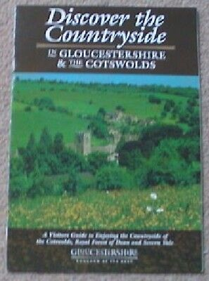 2003 Gardens Discover Countrysides Attractions Gloucestershire Cotswolds Guides
