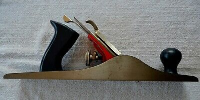 "Vintage Stanley H1205 14"" Carpenters Hand Wood Plane Model H1205 2"" Cutter W/Box"