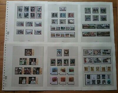 2015 ISLE OF MAN 13 x FULL UNMOUNTED MINT SETS ON LINDNER PAGES *FREE POSTAGE*