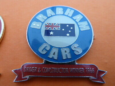 Pin's  Voitures / Sigle  Brabham Cars / Driver Constructor Winner1966  / Superbe