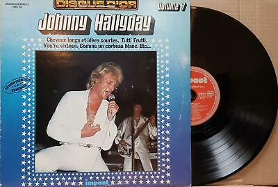 Johnny Hallyday ‎– Disque D'or Volume 7 33T LP VG/EX Impact ‎– 6886 201