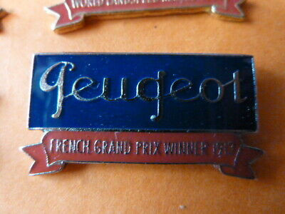 Pin's  Voitures / Sigle  Peugeot / French Gd Prix  Winner 1913  / Superbe