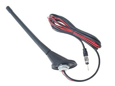 Car Radio Antenna Aerial With Amplifier Length - 240mm