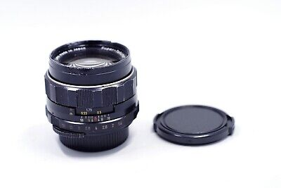 Exc- Pentax Super Takumar M42  50mm f1.4 50/1.4 8 element early ver Radioactive!