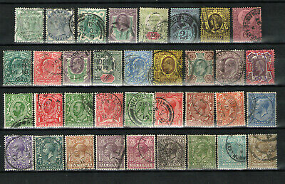 Great Britain   Lot  of  Queen Victoria  to  George VI   Used