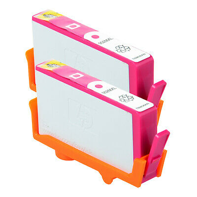 2 PK 902 XL Magenta Ink Cartridge for HP Officejet Pro 6962 6968 6970 T6M06AN