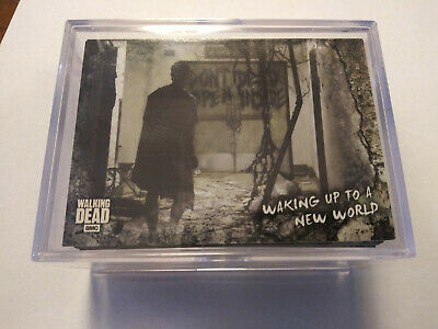 Topps Walking Dead Road To Alexandria Complete Base Set 1-100